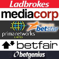 Media Corp, Hippodrome online JV; Betfair, Betgenius, Betstar, Ladbrokes briefs