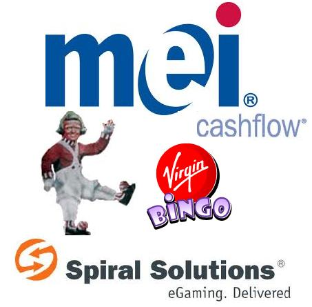 MEI replace Cashflow system; Virgin Bingo prove TV is still a strong marketing tool; Spiral Solutions provides WinTango with gaming services