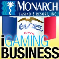 Monarch eyes Nevada poker license; Iowa's interstate plans; Wire Act webinar