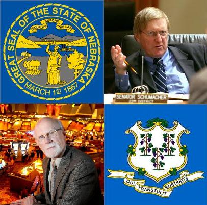 Debates brew over gambling legalisation in Nebraska and Connecticut