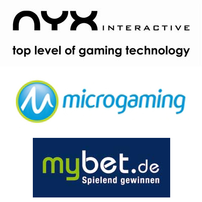 NYX Interactive don the 3D specs; Microgaming Poker Network rewarded; myBet.de get some good Fortuna