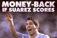 Suarez money back