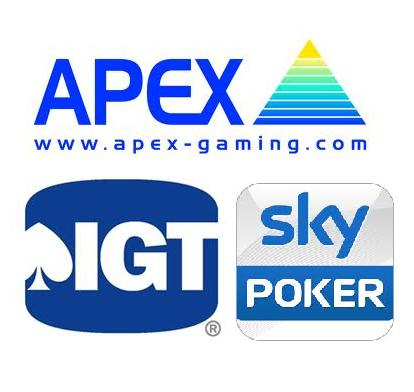 APEX IGT Sky Poker