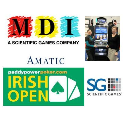 MDI Entertainment signs deal with Live Nation; Amatic Industries opens to Germany; PaddyPowerPoker Irish Open details
