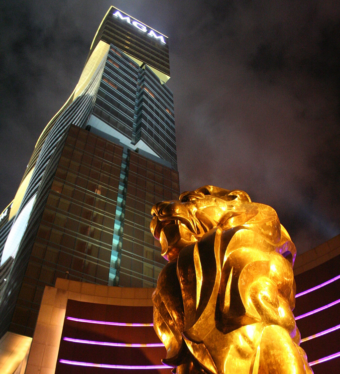 Macau china mgm casino dorado casino shreveport louisiana