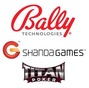 Bally Technologies to provide solutions for SIGA; Shanda Games releases financial results; Titan Poker wins customer service award