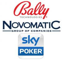 bally tech novomatic sky poker
