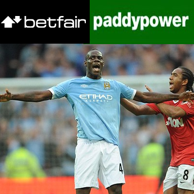 Paddy Power joins up with City; Goal.com partners with Paddy; Betfair CTO sixth best; Betting exchange to experience downtime