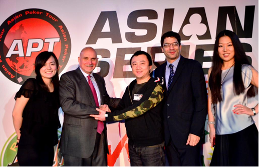 Asian Poker Tour to be Major Sponsor at China Poker Carnival 2012