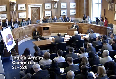Senate Committee on Indian Affairs talks online gambling and Wire Act opinion