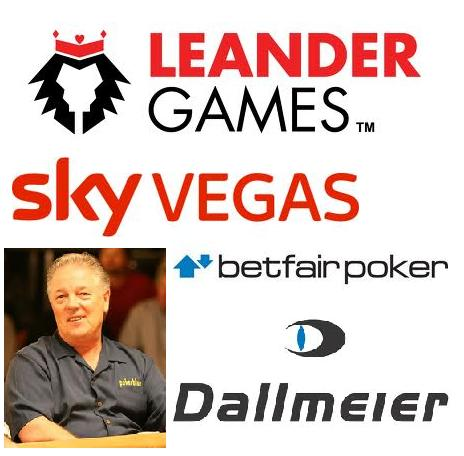 Leander Games to provide Sky Vegas; Betfair Poker to raise funds for Thor Hansen; Dallmeier announce PService