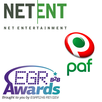 NetEnt has year to remember; Paf appoints new deputy chief executive; eGR B2B Awards grow
