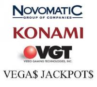 novomatic konami gaming vgt
