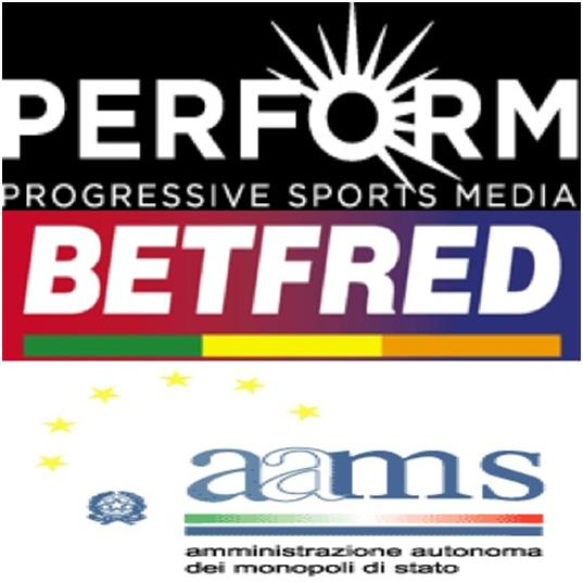 PERFORM expands Watch2Bet offering; Betfred agrees on-course deal; Games the one bright spark for AAMS