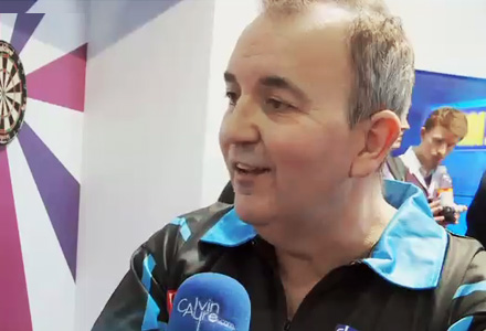 "Phil ""The Power"" Taylor Pro Darts Player Interview"