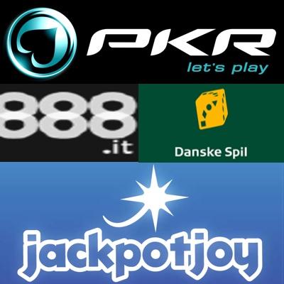 PKR goes Italian; 888 pays out to Italian; Jackpotjoy hands down large jackpot; DanskeSpil affiliate program