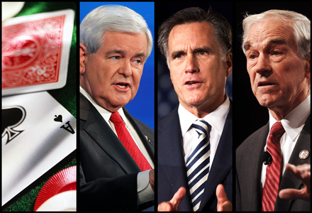poker-newt-gingrich-mitt-romney-ron-paul