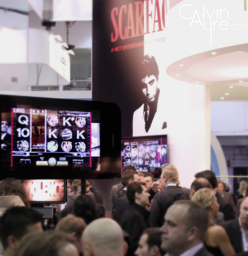 Scarface Slots Machine at ICE