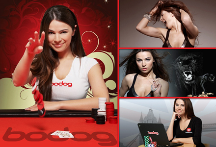 Join Tatjana on Team Bodog!