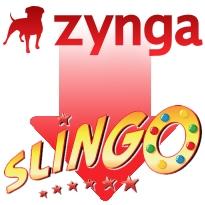 Zynga stock sinks 18%; Zynga Slingo company's first licensed game