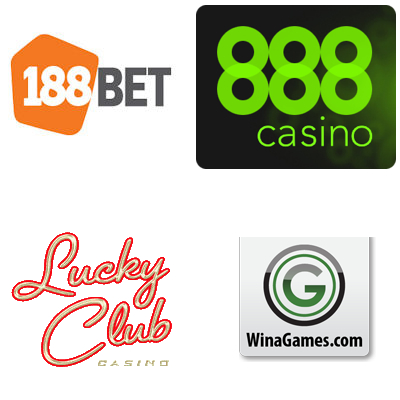 188Bet gets live casino; 888casino relaunches; Lucky Club Casino brings out new slot; WinaGames new 3D slot