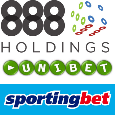 888 earnings double; Unibet relaunch French site; Sportingbet make final payment