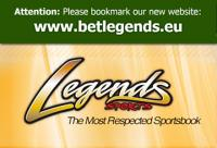 new BetLegends.eu domain