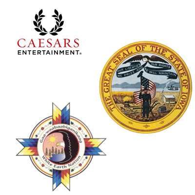 Caesars casino to close in 60 days; Iowa casinos generate close to a billion; White Earth Nation gathering casino momentum