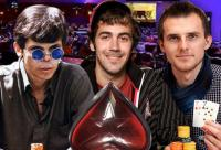 Debuting poker players on big tournament stage