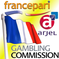 France Pari fixed odds; ARJEL numbers up; Gambling Commission moving?