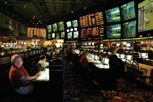 LVH SuperBook gearing up for March Madness