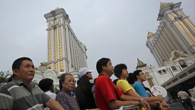 Galaxy Macau visitors