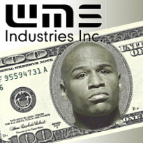 WMS applies in Nevada; Vegas visitors spending less; Mayweather admits losing!