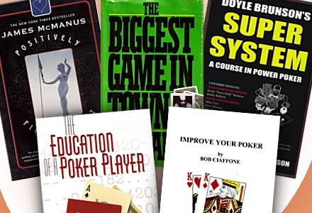 Five on Friday: Old Poker Books That Hold Up Today
