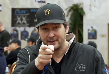 Phil Hellmuth: Poised, Ready to Strike