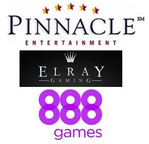 Pinnacle Ent Elray games 888Games