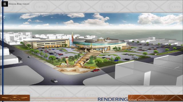 Seneca casino-rendering