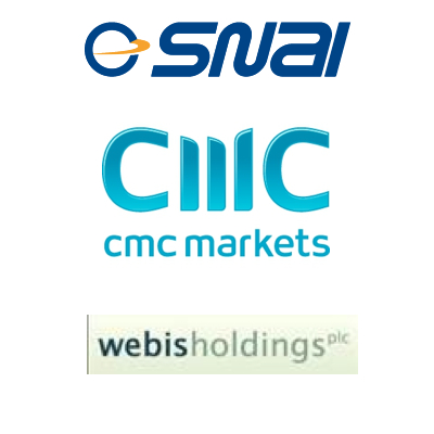 SNAI and GameAccount new deal; CMC close Dublin office; Webis lose finance director