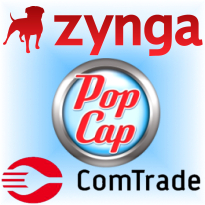 Zynga partnership with US casino in 2012; PopCap, Comtrade social casino moves
