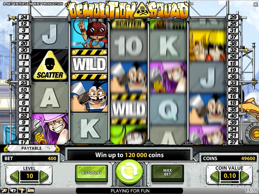 Net Entertainment launches Demolition Squad video slot