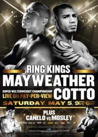 Floyd Mayweather Jr. vs Miguel Cotto Official Poster