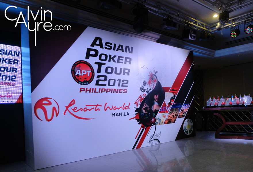 Asian Poker Tour Philippines 2012