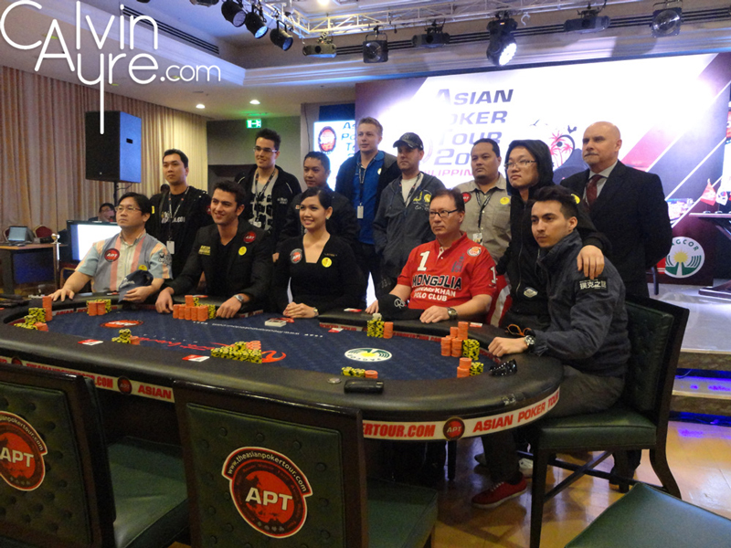 Asian Poker Tour Philippines 2012 Main Event Final Table