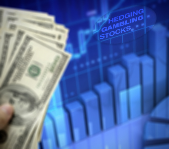 Using Stock Options to Hedge Gambling Stocks