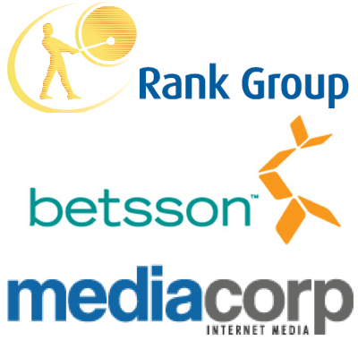 Rank Interactive awards media contract; Betsson set up subsidiary; Media Corp looking at acquisitions