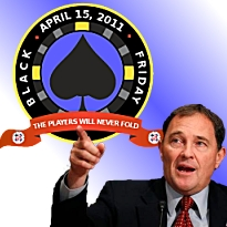 Utah guv warns feds to back off poker regs; PPA's Black Friday Money Bomb