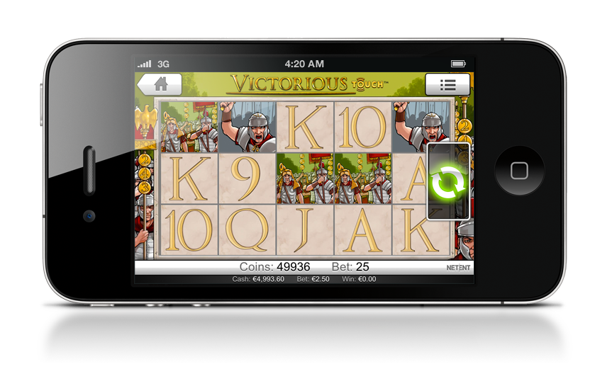 Victorious Touch and Flowers Touch added to NetEnt's mobile portfolio