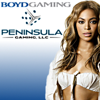 Boyd buys Peninsula for $1.45b; Penn. table tally; Beyoncé boots conference