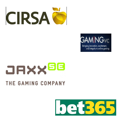 Cirsa continues growth; GVC turnover up; JAXX changing costumes; bet365 serves ace with sponsor deal
