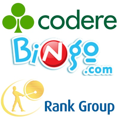 Codere increases turnover; Bingo.com misses out on profit; Rank shares rise